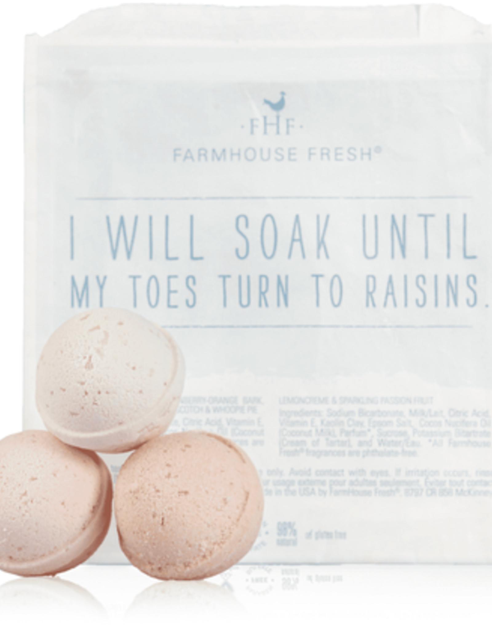 Farmhouse Fresh Bath Fizzers - Set of 3