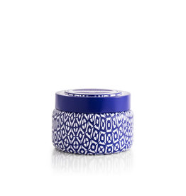 Capri-Blue Printed Travel Tin