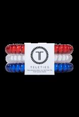 TELETIES Red, White, Blue 3-pack
