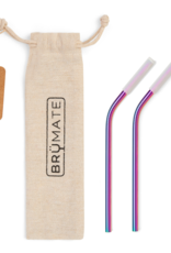 BrüMate Stainless Steel Reusable Wine Straws