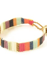 INK + ALLOY Multi Stripe Beaded Bracelet