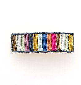 INK + ALLOY Multi Color Beaded Barrette