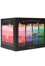FinchBerry Soapery 4 Bar Gift Box - Jewel Tone Collection