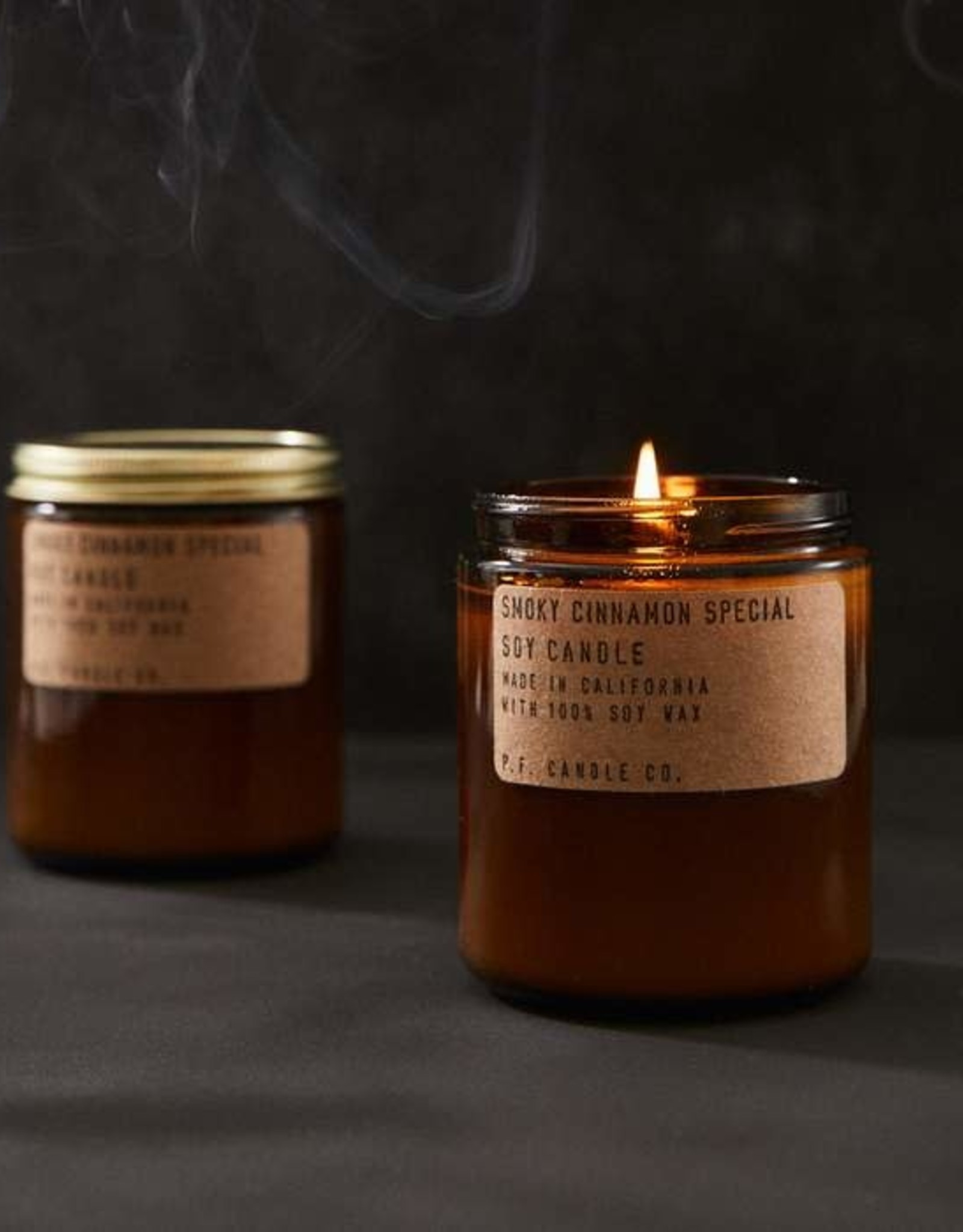 P.F. Candle Co. Smoky Cinnamon Special Soy Candle