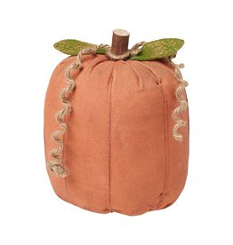 Orange Fabric Pumpkin