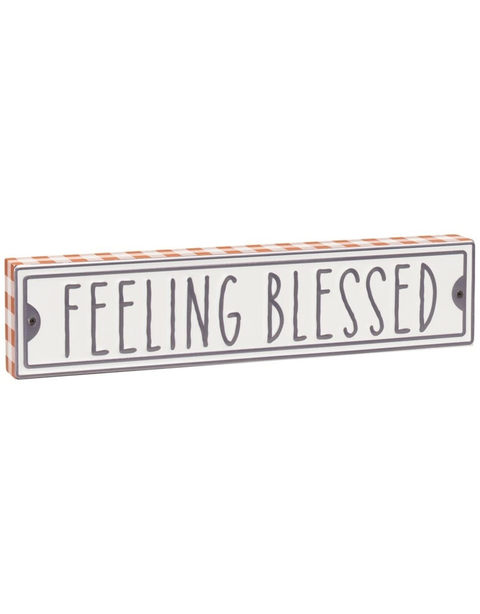 Blessed Street Box Sign