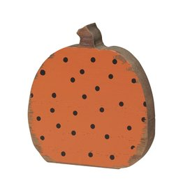 Black Dot Pumpkin Cutout