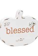 Blessed Pumpkin Cutout