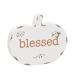 Blessed Pumpkin Cutout