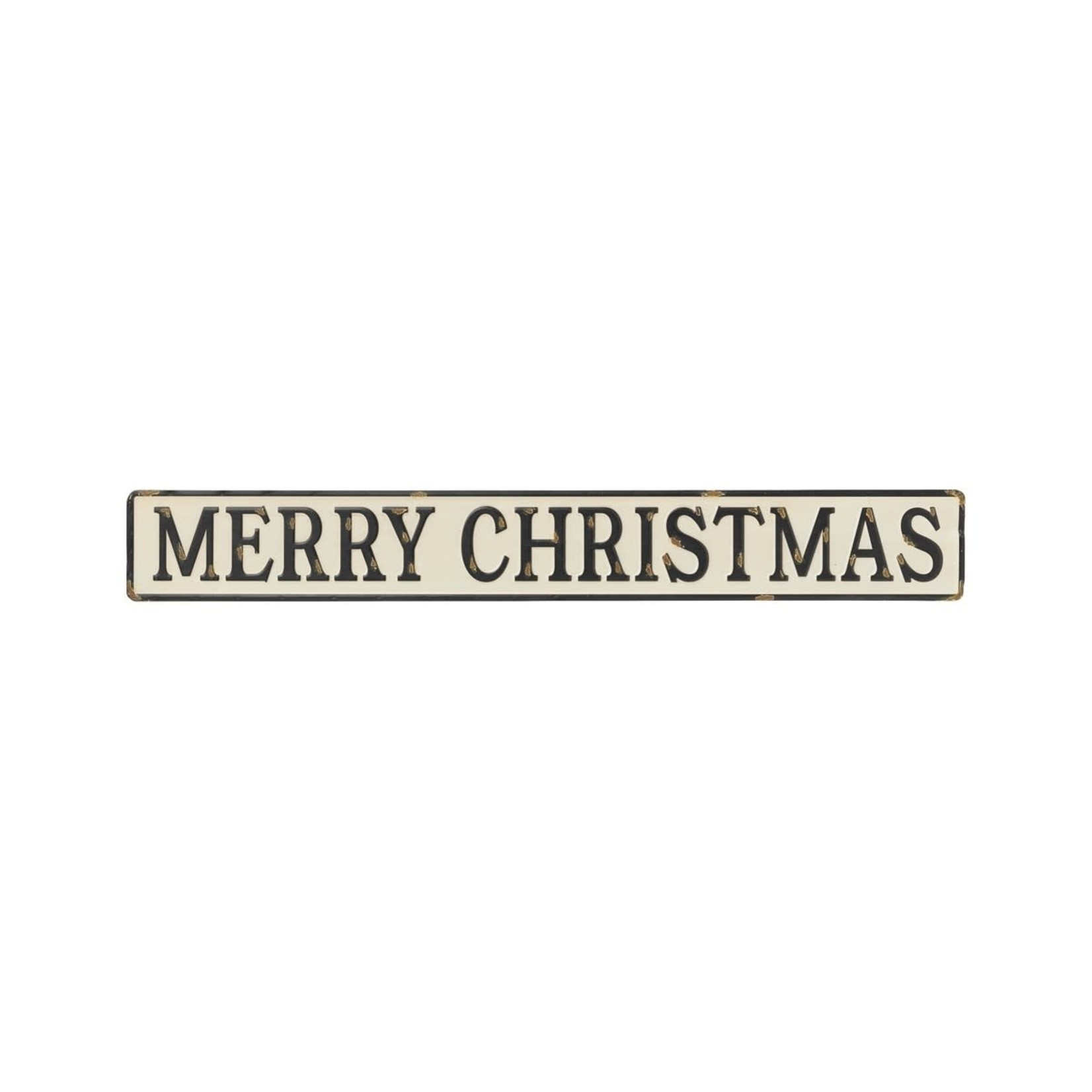 Collins Painting Merry Christmas Embossed Sign