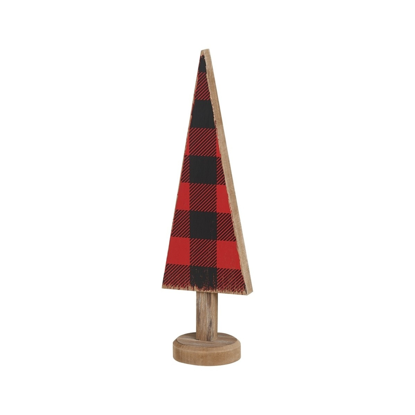 Collins Painting RB Check Tree w/ Wood Base