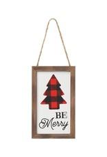 Merry Tree RB Framed Ornie