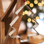 Christmas Tree Cookie Cutter Ornament