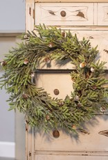 "Mountain Pine Wreath, 18"""