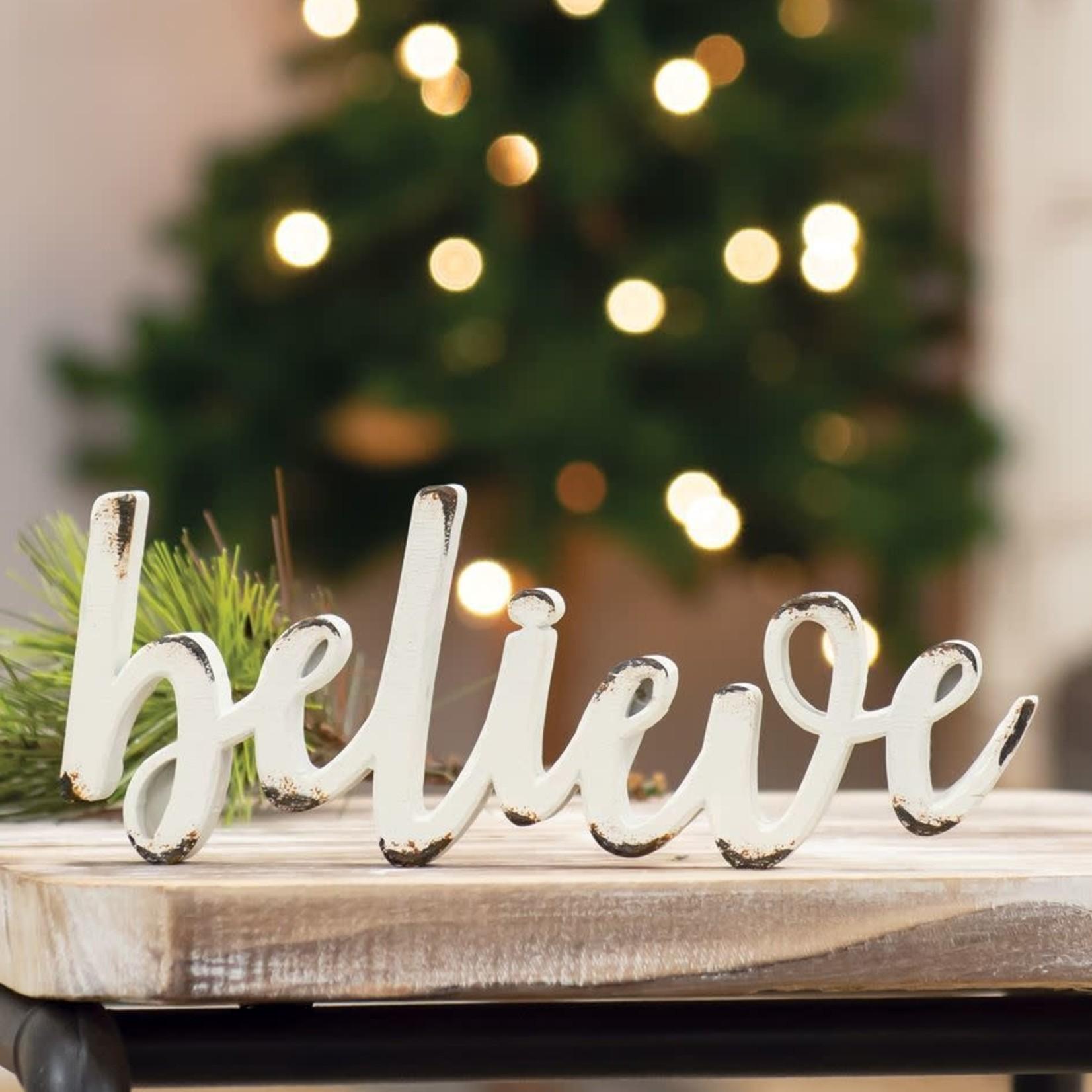 Believe Resin Sitter