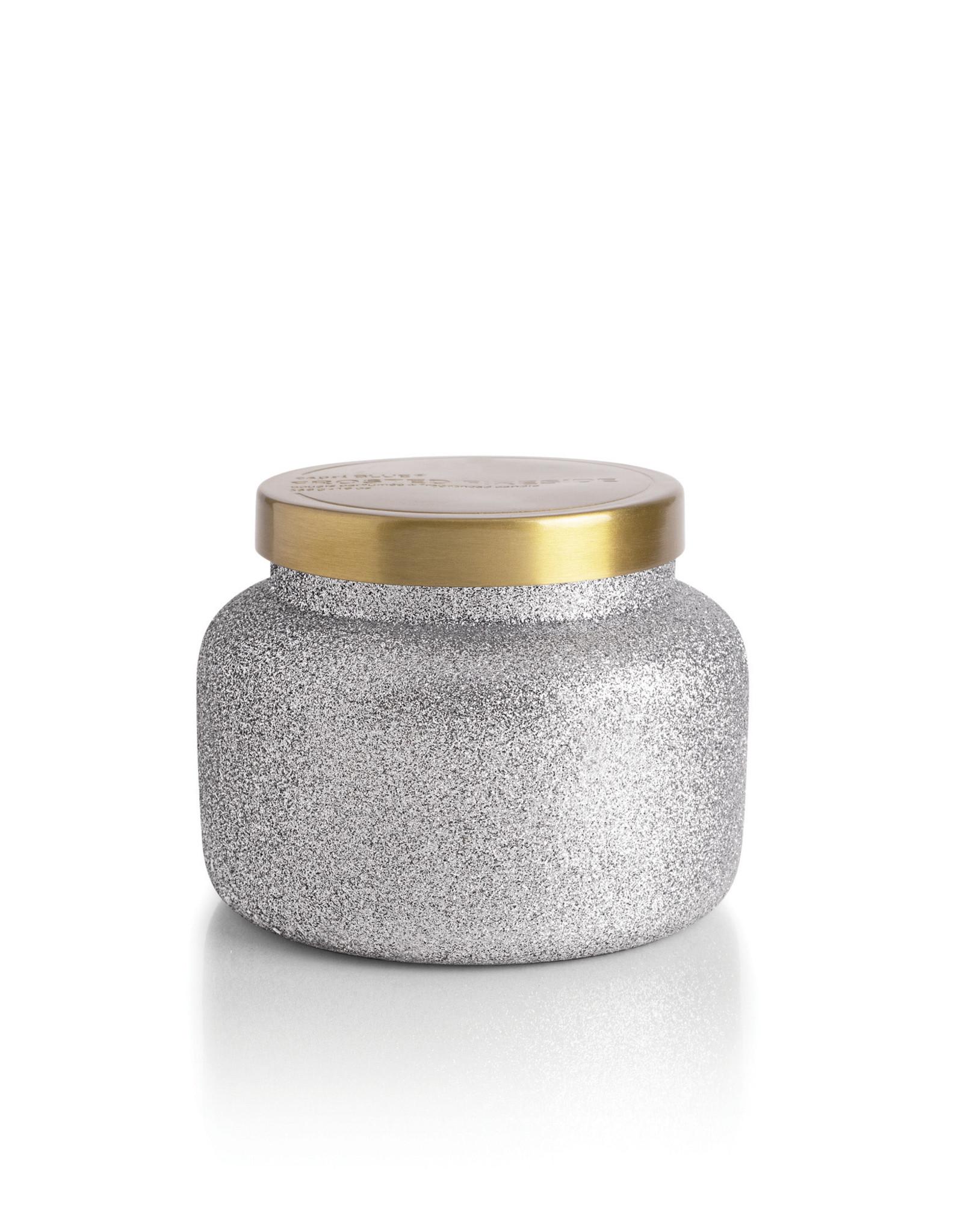 capri BLUE® Frosted Fireside Glam Jar