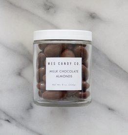 Wes Candy Co. Milk Chocolate Covered Almonds