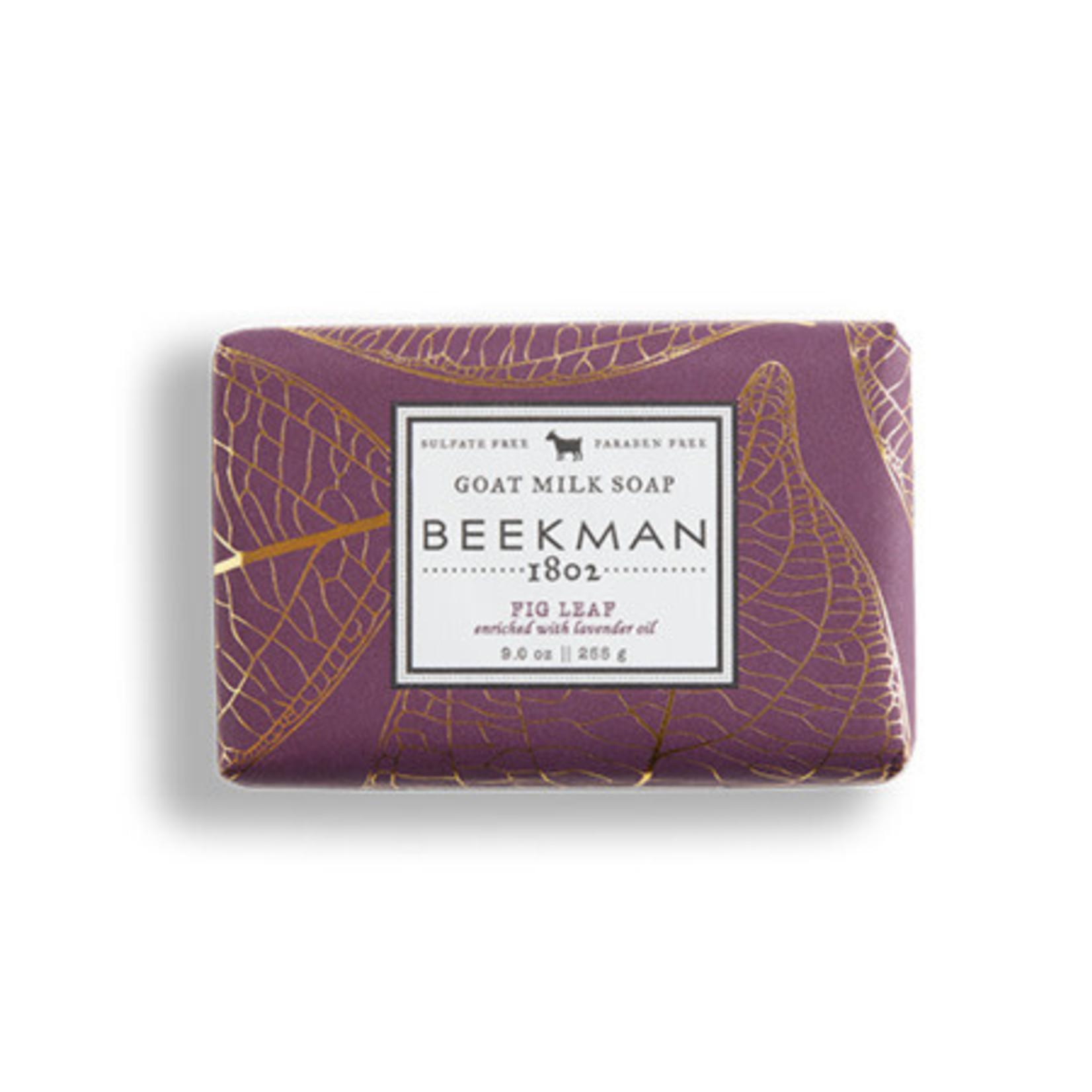 BEEKMAN 1802 Fig Leaf Goat Milk Soap