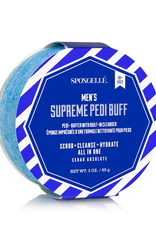 Spongelle Men's Supreme Pedi Buffer   Cedar Absolute