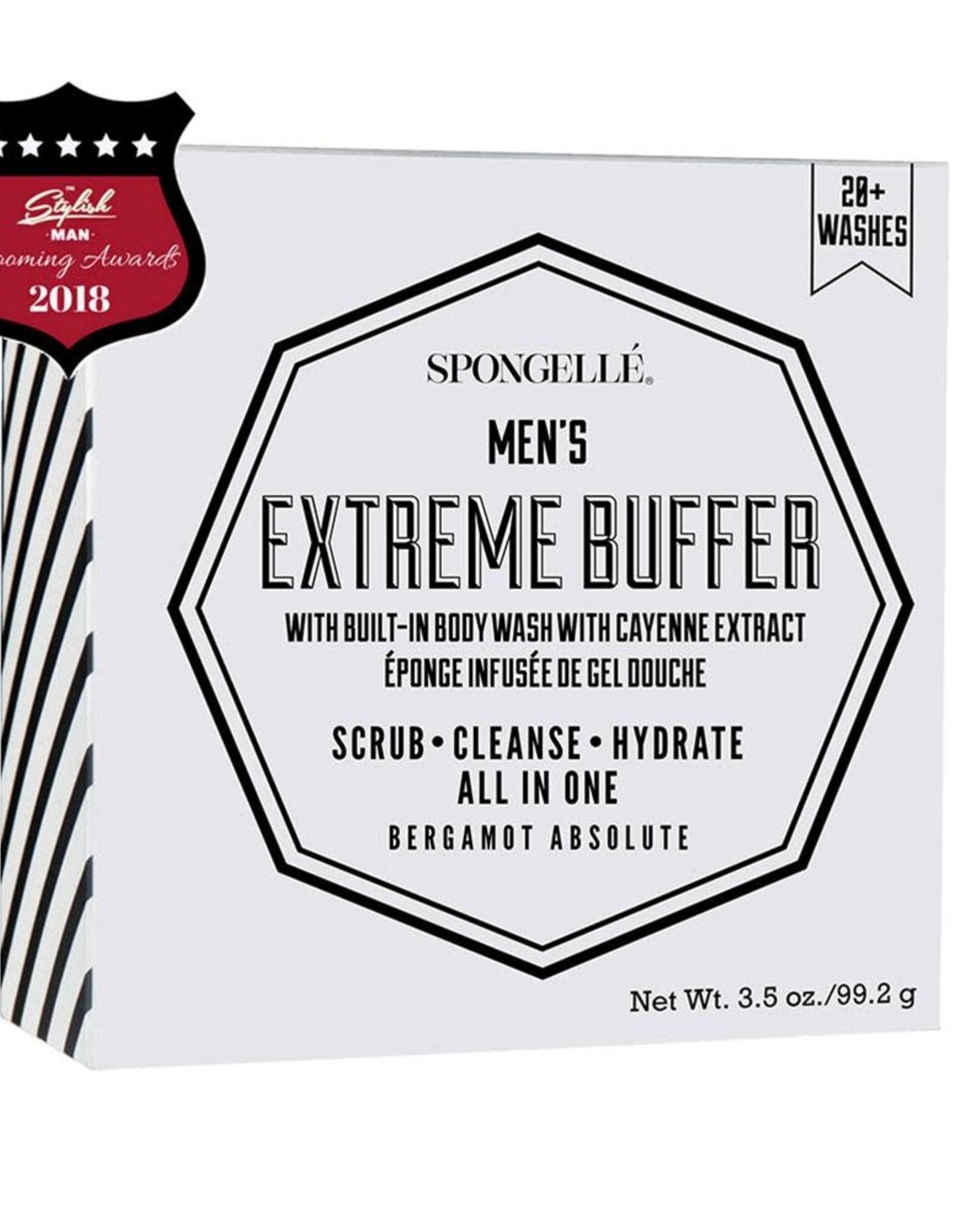 Spongelle Men's Extreme Buffer   Bergamot Absolute