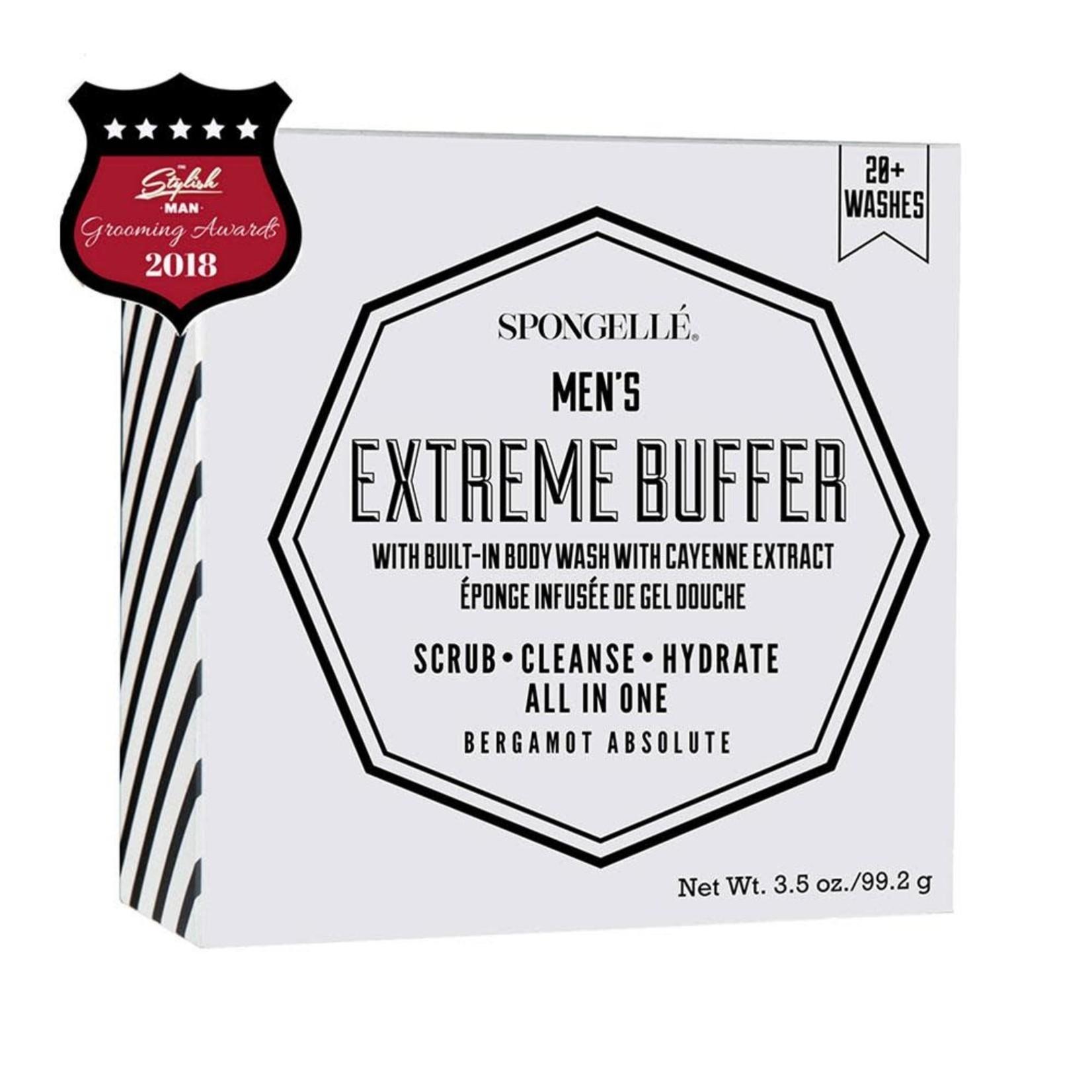 Spongelle Men's Extreme Buffer | Bergamot Absolute