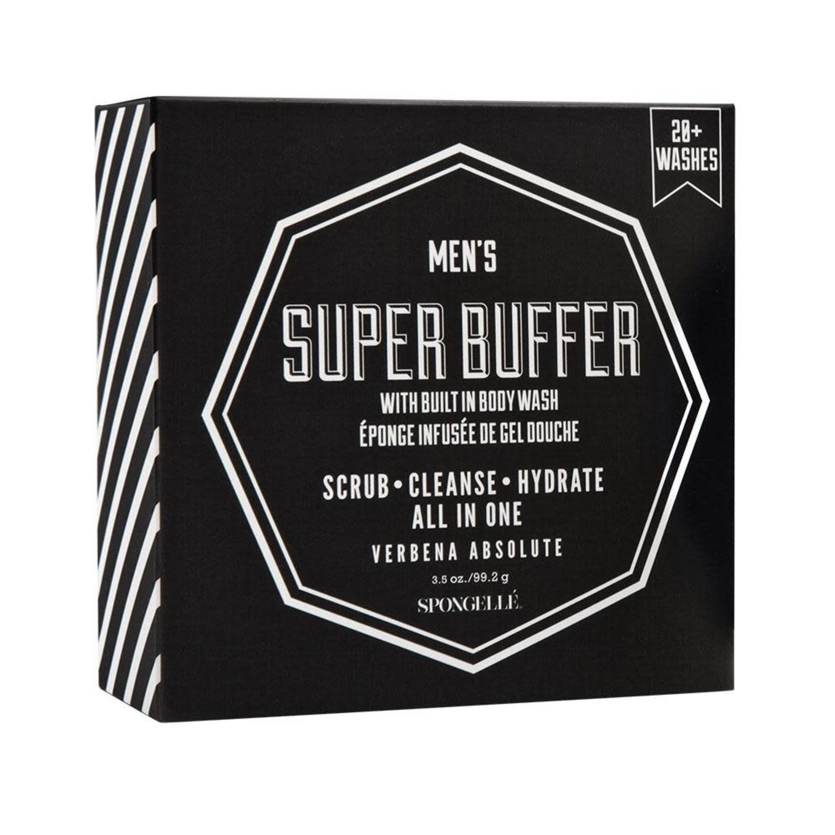 Spongelle Men's Super Buffer | Verbena Absolute