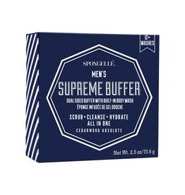 Spongelle Men's Supreme Buffer | Cedar Absolute