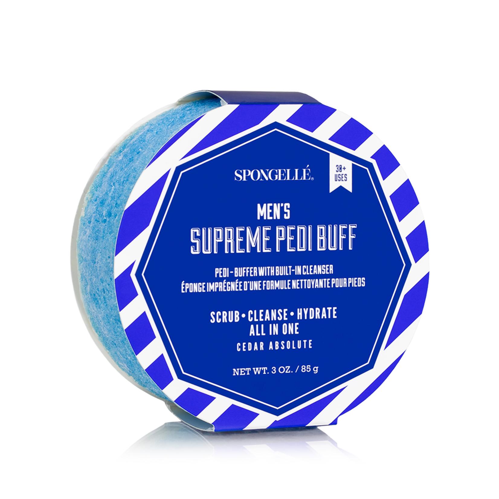 Spongelle Men's Supreme Pedi Buffer | Cedar Absolute