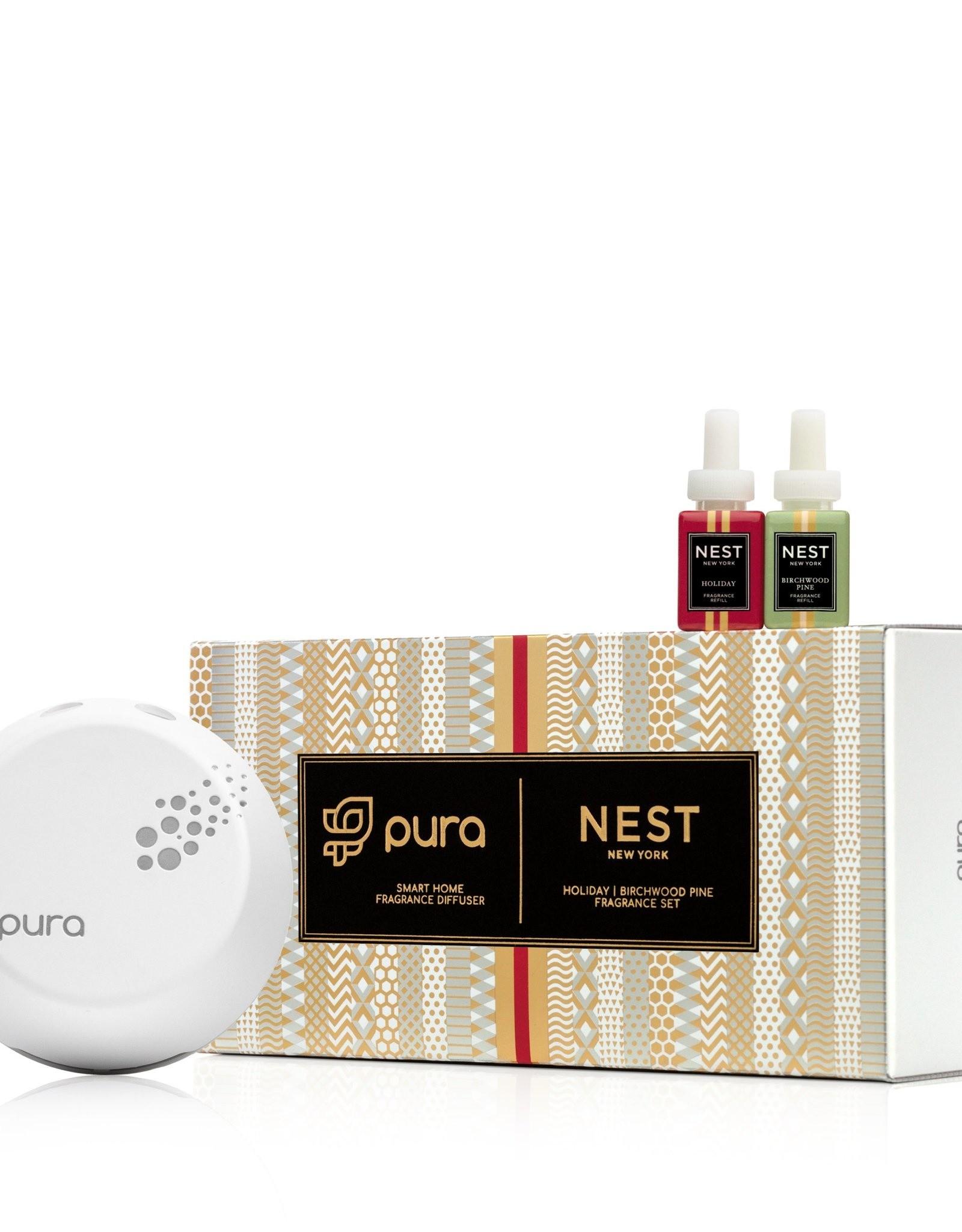 NEST NEW YORK Festive Pura Smart Home Fragrance Diffuser Set