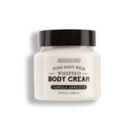 BEEKMAN 1802 Vanilla Absolute Whipped Body Cream