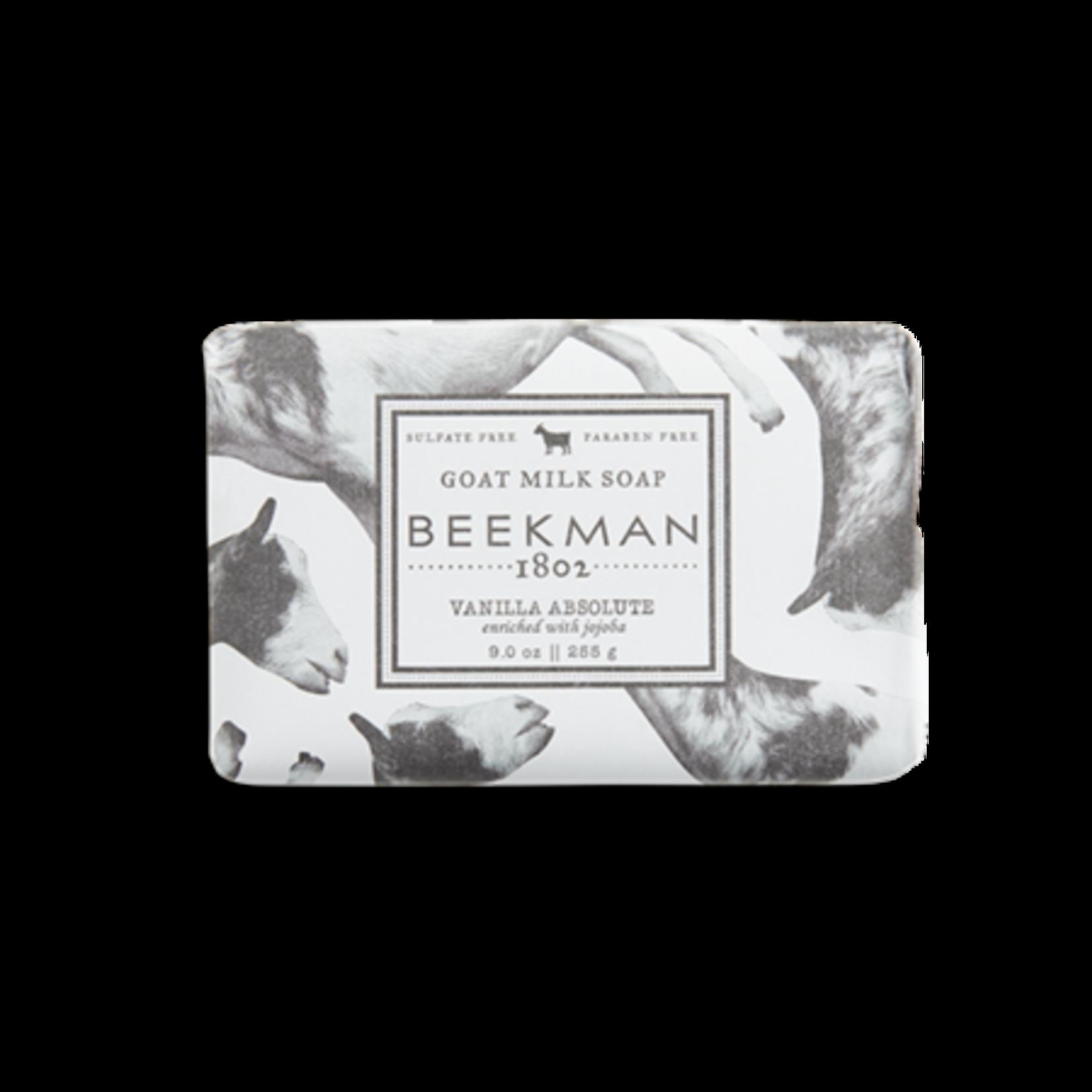 BEEKMAN 1802 Vanilla Absolute Goat Milk Soap