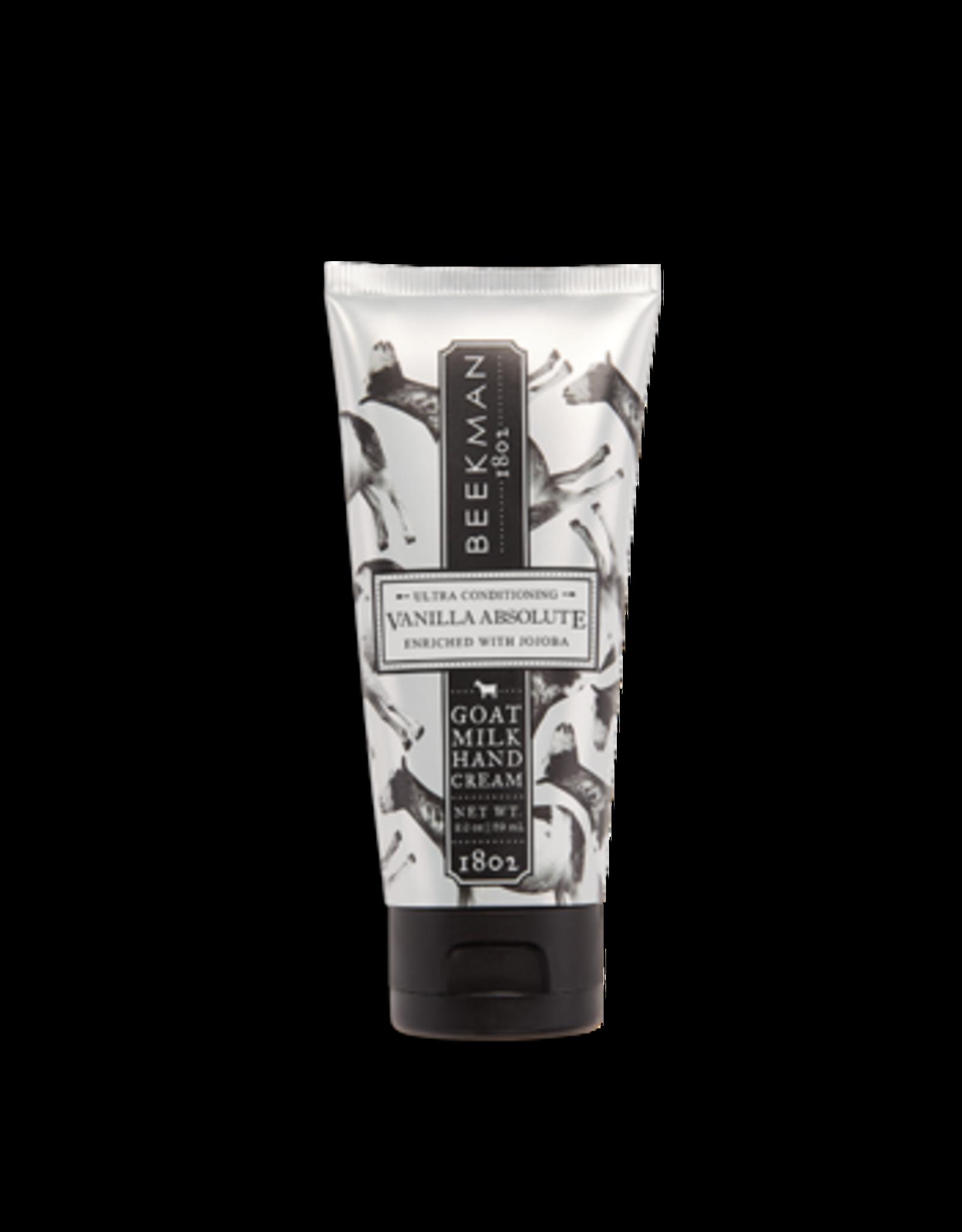 BEEKMAN 1802 Vanilla Absolute Goat Milk Hand Cream