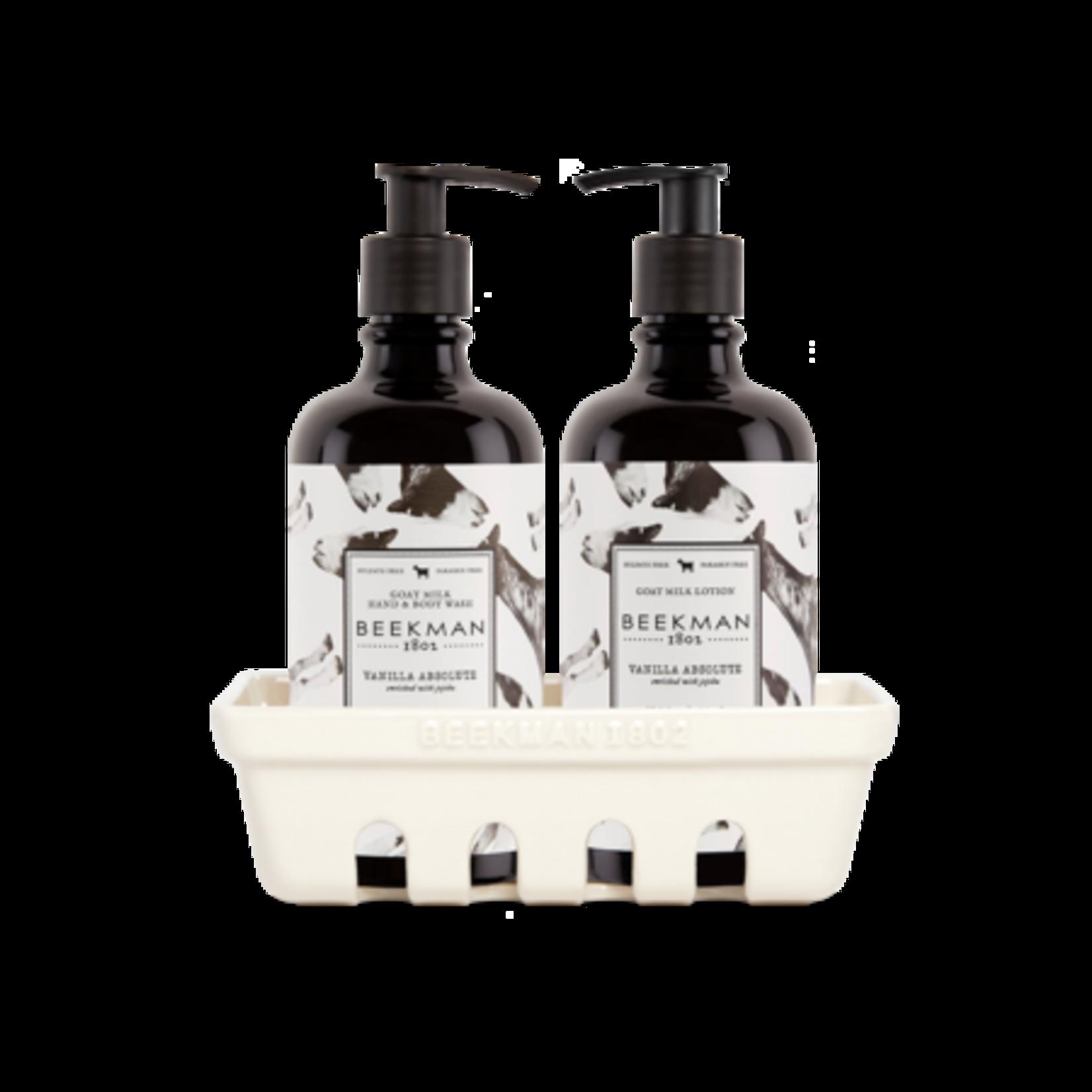 BEEKMAN 1802 Vanilla Absolute Hand Care Caddy