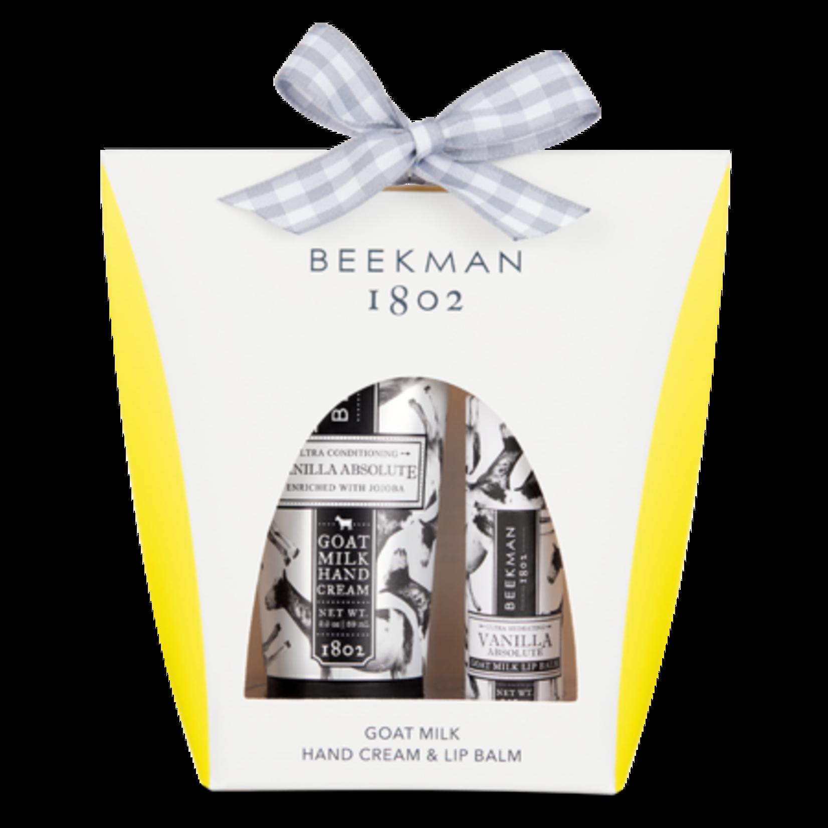 BEEKMAN 1802 Vanilla Absolute Hand & Lip Hydration Kit