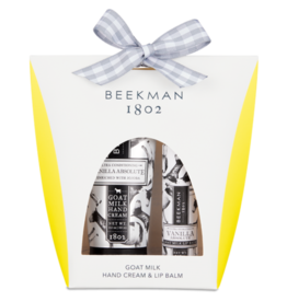 BEEKMAN 1802 Vanilla Absolute Hand & Lip Hydration Kit