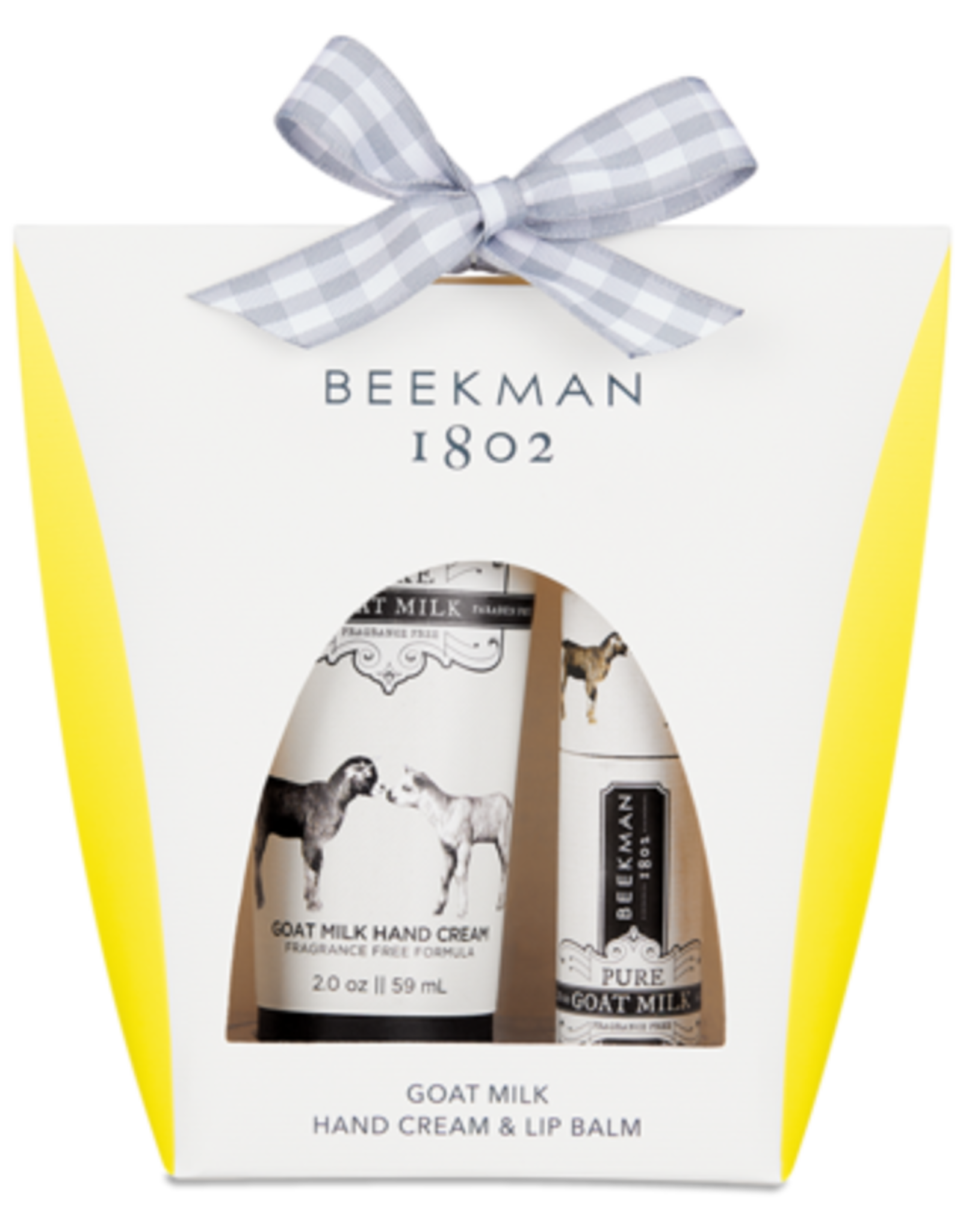 BEEKMAN 1802 Pure Hand & Lip Hydration Kit