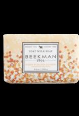 BEEKMAN 1802 Honey & Orange Blossom Goat Milk Soap