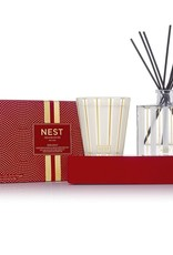 NEST NEW YORK Holiday Candle and Diffuser Set