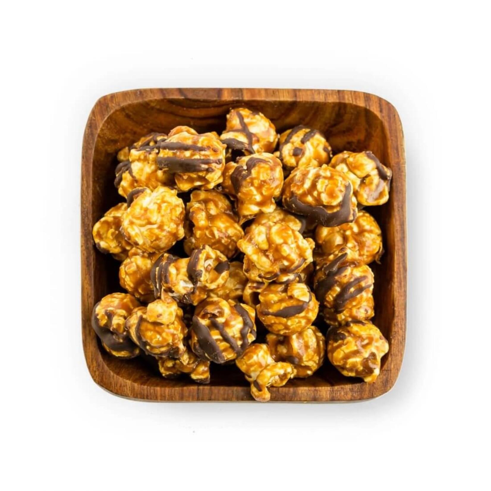 Popinsanity Caramel Chocolate Drizzle Artisanal Popcorn