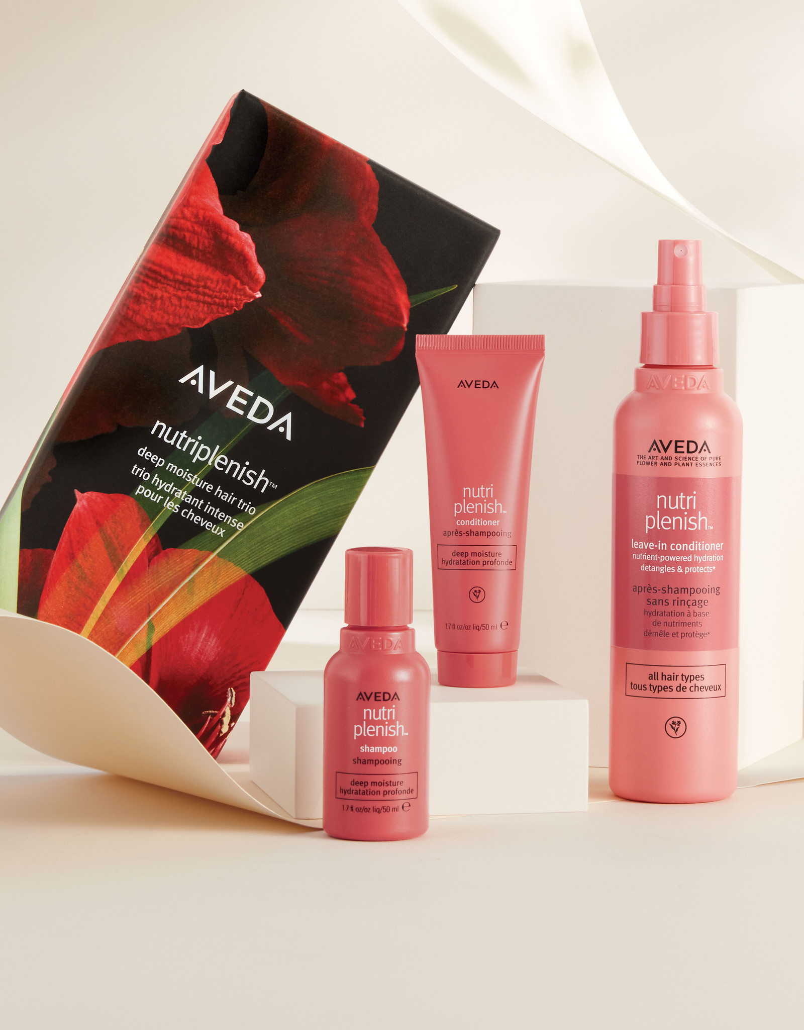 AVEDA Nutriplenish™ Deep Moisture Hair Trio