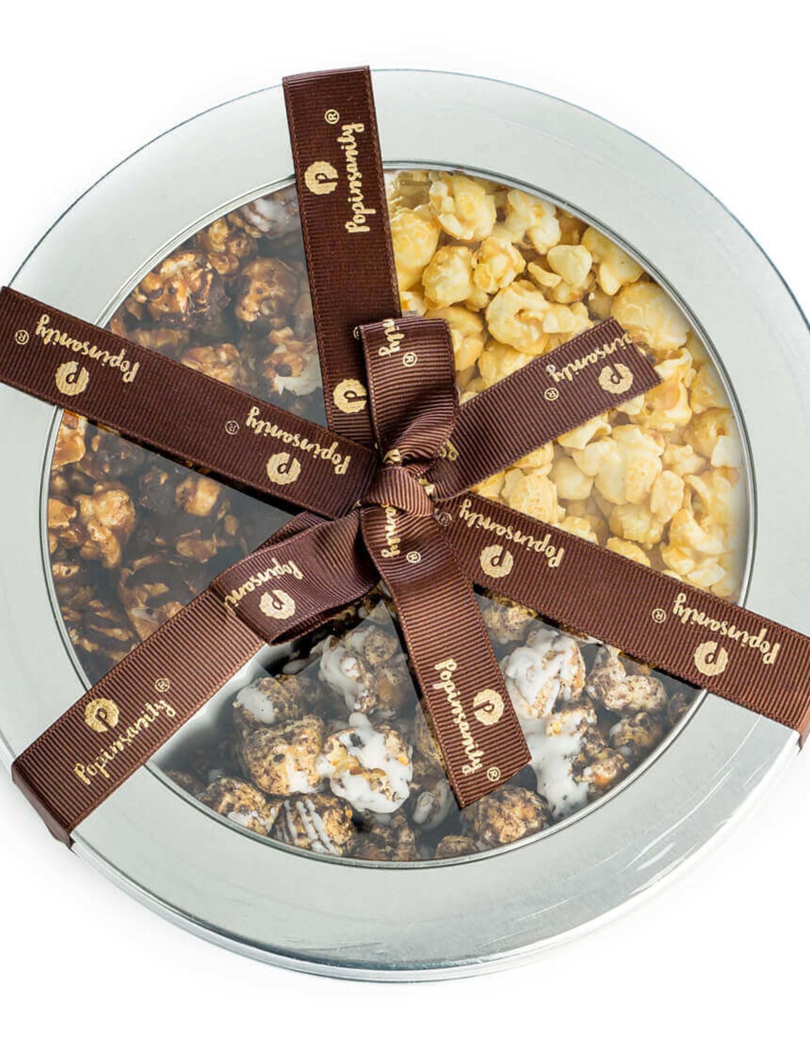Popinsanity Gourmet Popcorn 3 Flavor Tin