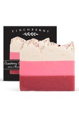 FinchBerry Soapery Cranberry Chutney - Handcrafted Vegan Soap (Boxed)