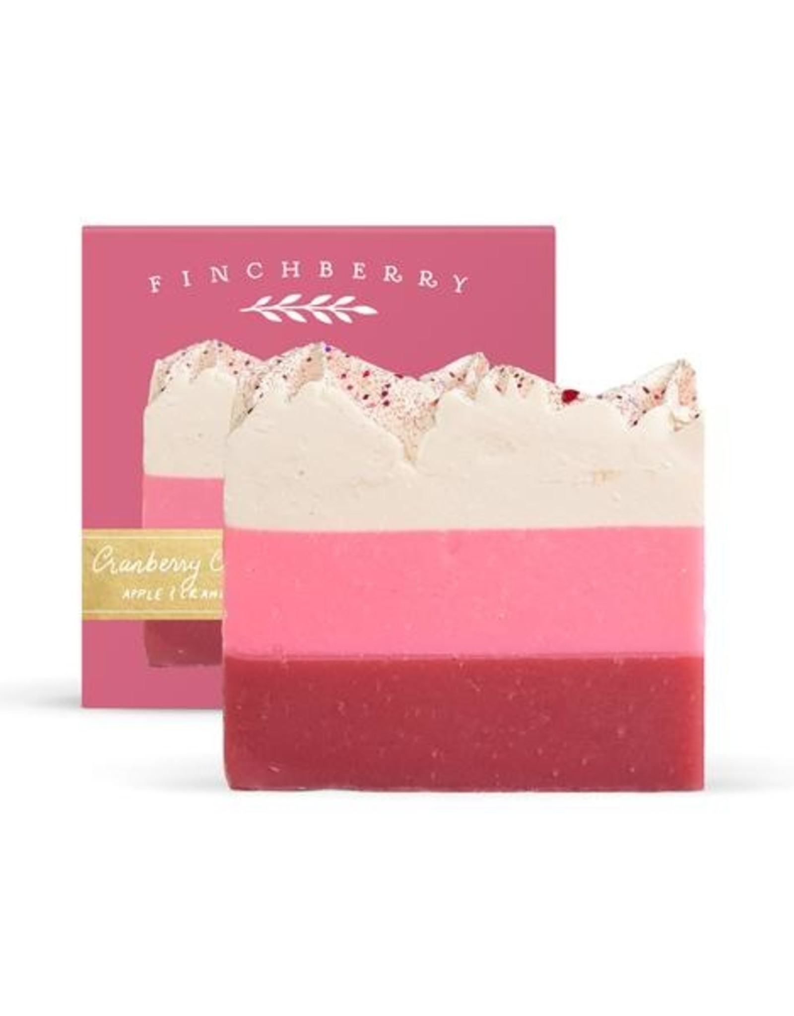FinchBerry Soapery Cranberry Chutney Holiday Boxed Soap