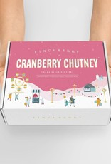 FinchBerry Soapery Cranberry Chutney - 3 Piece Holiday Gift Set