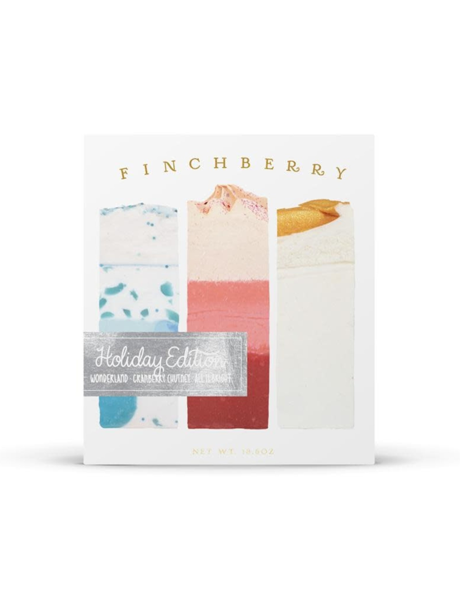 FinchBerry Soapery 3-Bar Gift Set - Holiday Edition