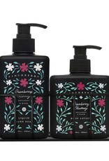 FinchBerry Soapery Cranberry Chutney Combo Caddy - Hand Wash & Body Lotion