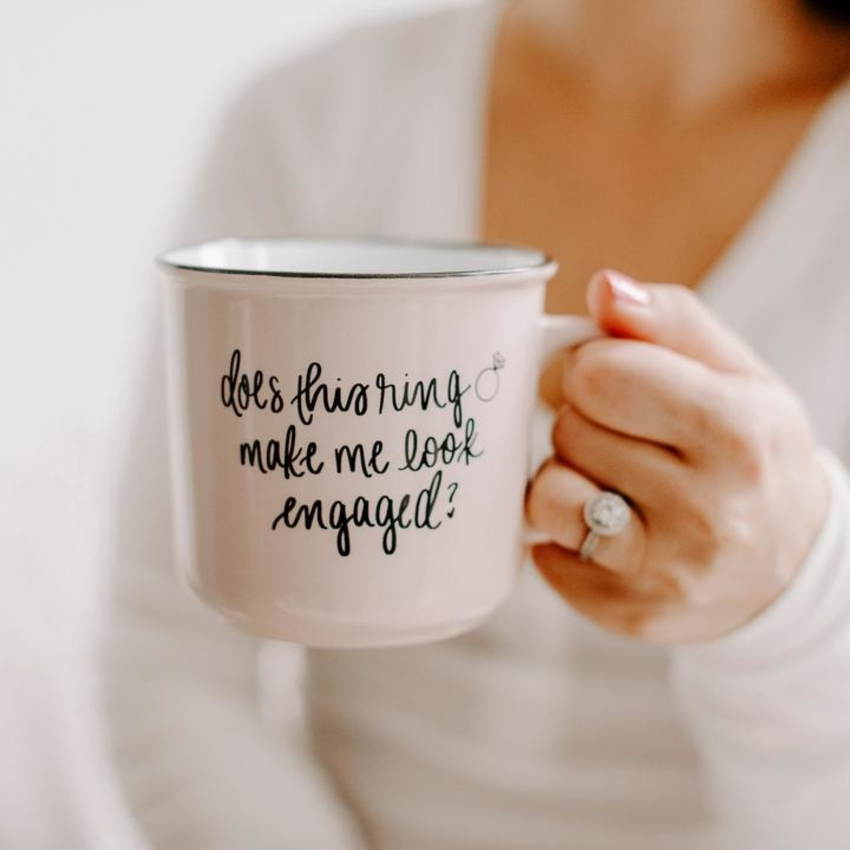 Sweet Water Decor Engaged Coffee Mug