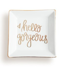 Sweet Water Decor Hello Gorgeous Jewelry Dish