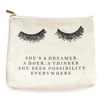 Sweet Water Decor Eyelash Dreamer Makeup Bag