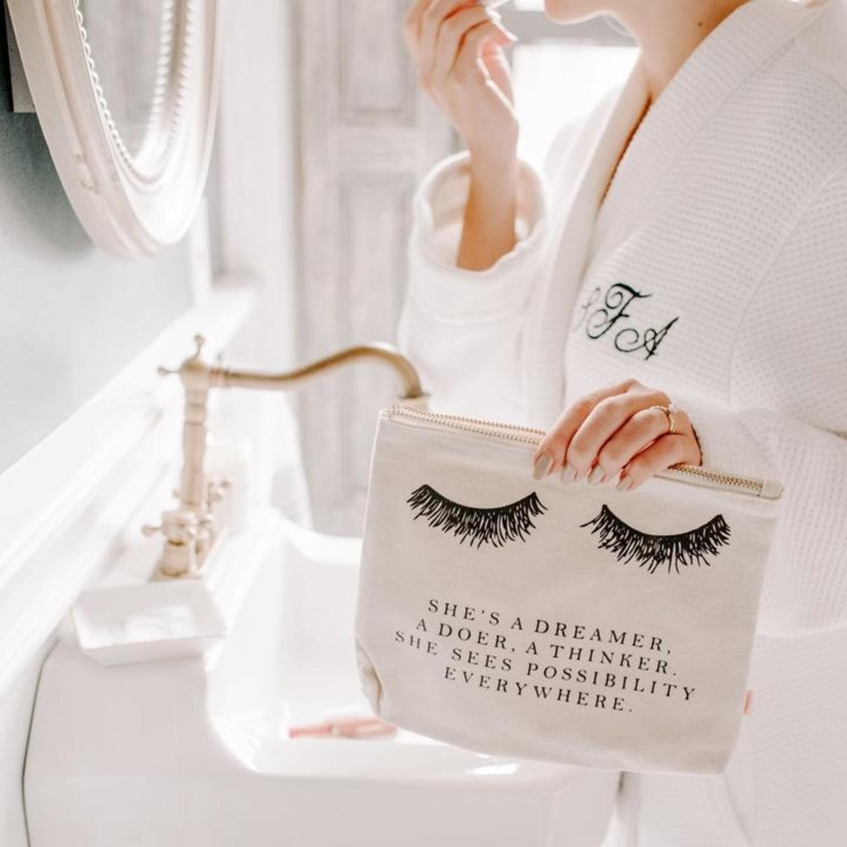 Sweet Water Decor Eyelash Dreamer Makeup Bag